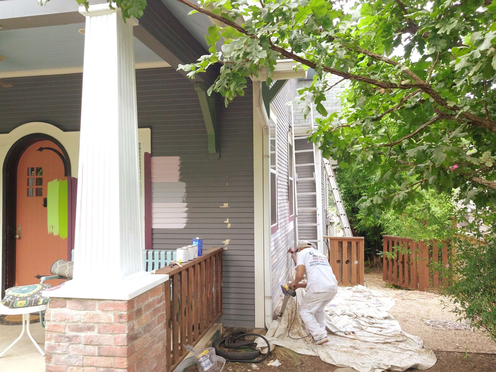 Exterior painters working in Austin tx